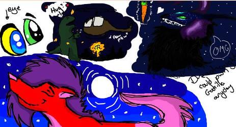 Iscribble with nebulaowl by Aychemex