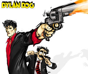 Dylan Dog cover 1