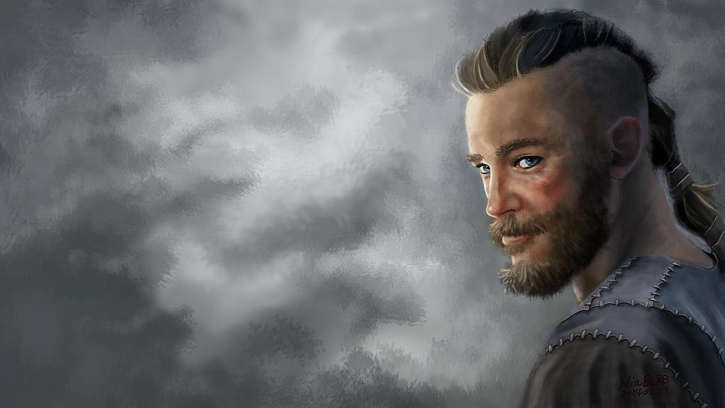 Ragnar Lothbrok 01 By NiaYeh