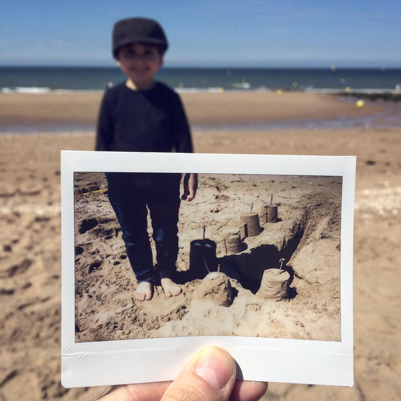 Castle made of sand by SebastienTabuteaud