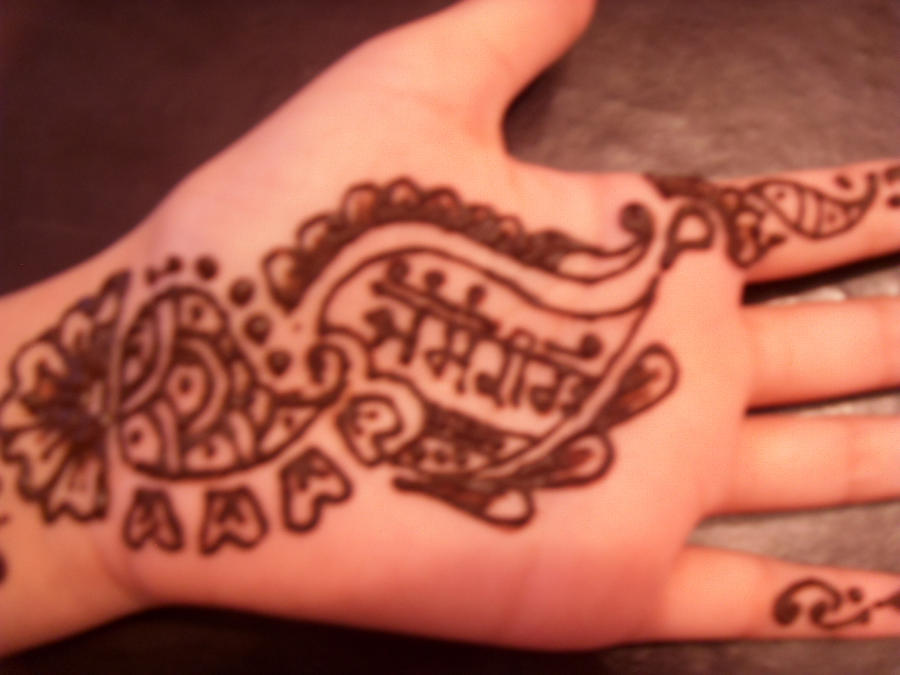 Mehndi Hand Name : My name in mehndi by bobkirat on deviantart