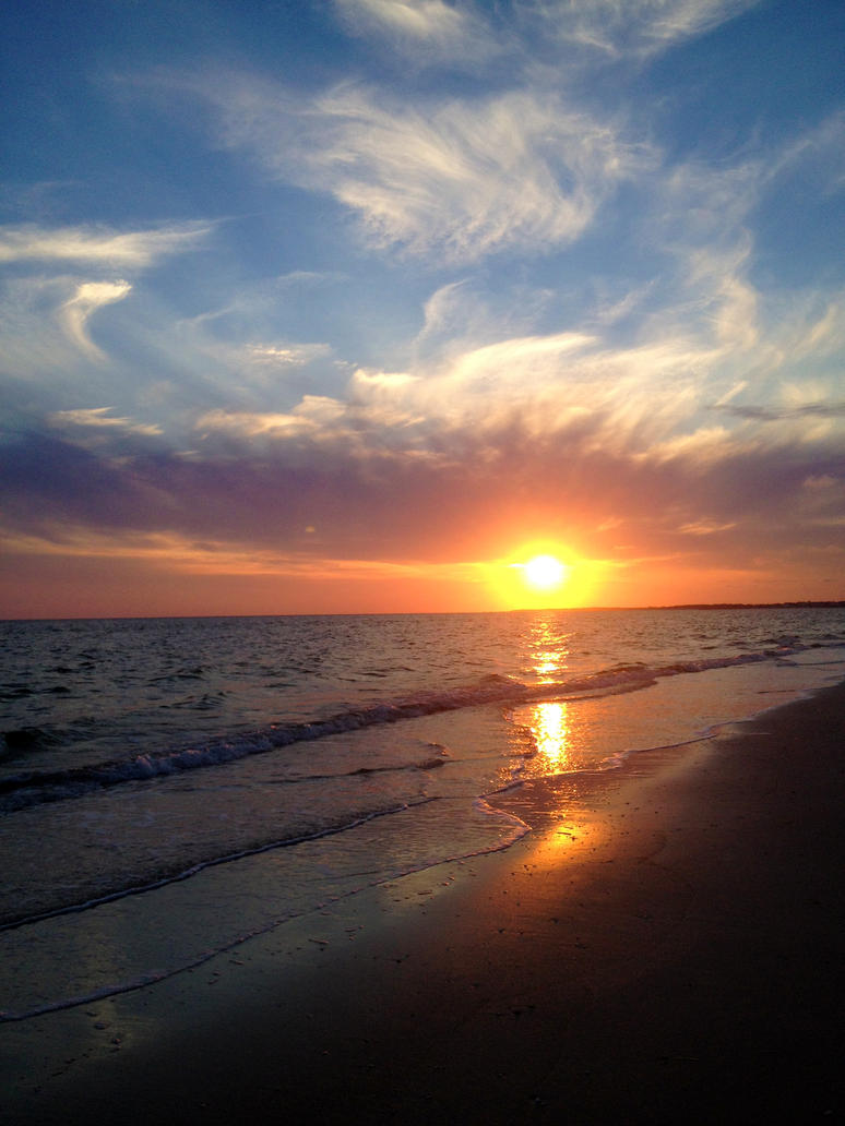 ~Beach Sunset~ by shelbyrenee