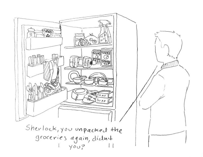 BBC Sherlock comic: Helpful by Graphitekind