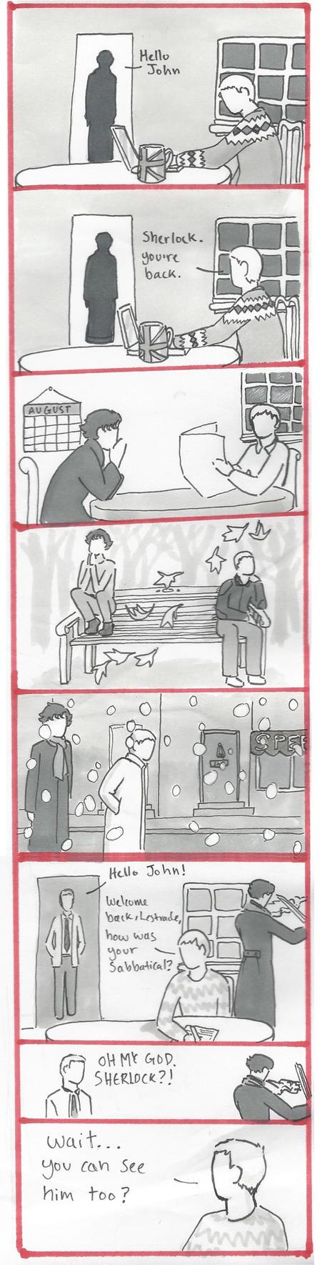 BBC Sherlock Comic: wait..... by Graphitekind