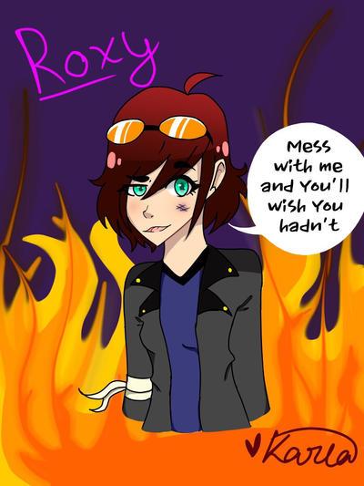 Roxy by KarlaArts