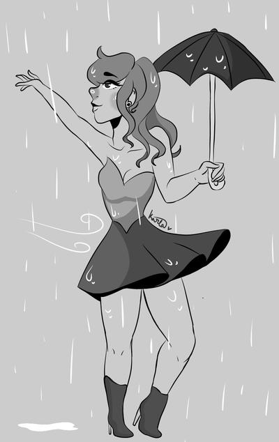 Nice Rainy Day by KarlaArts