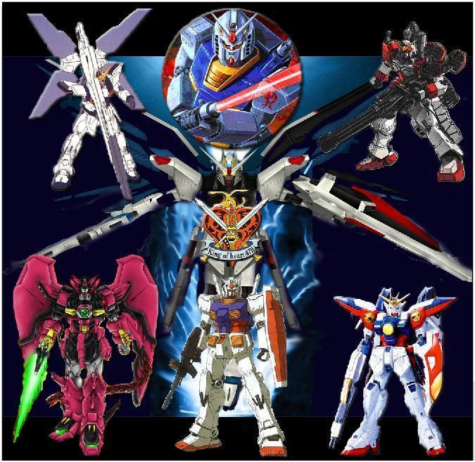 Hd Gundam Themes: Gundam Wallpaper By Bobo1806able On DeviantArt