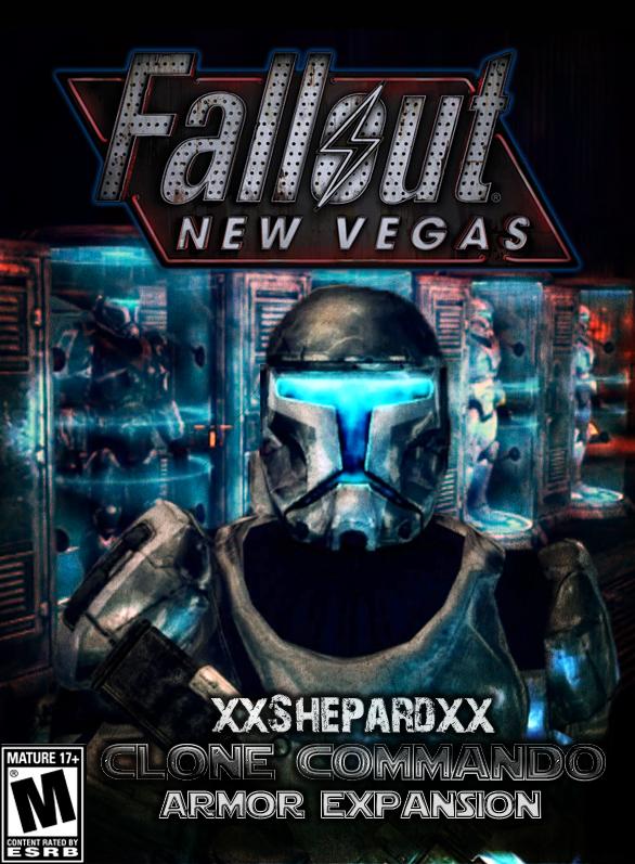 Fallout Newvegas Republic Commando Armor Box Art By