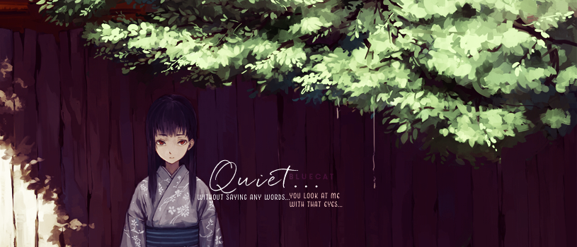 Quiet by bluecatXDXD