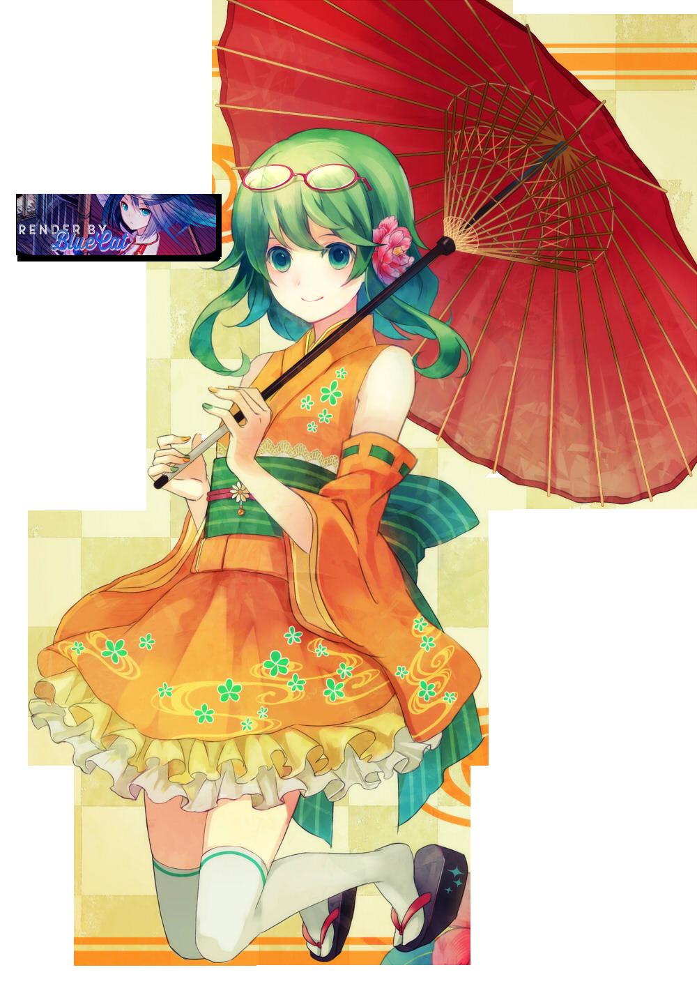 Render Gumi Vocaloid By Bluecatxdxd On Deviantart