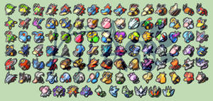 Pokemon Badges - Johto