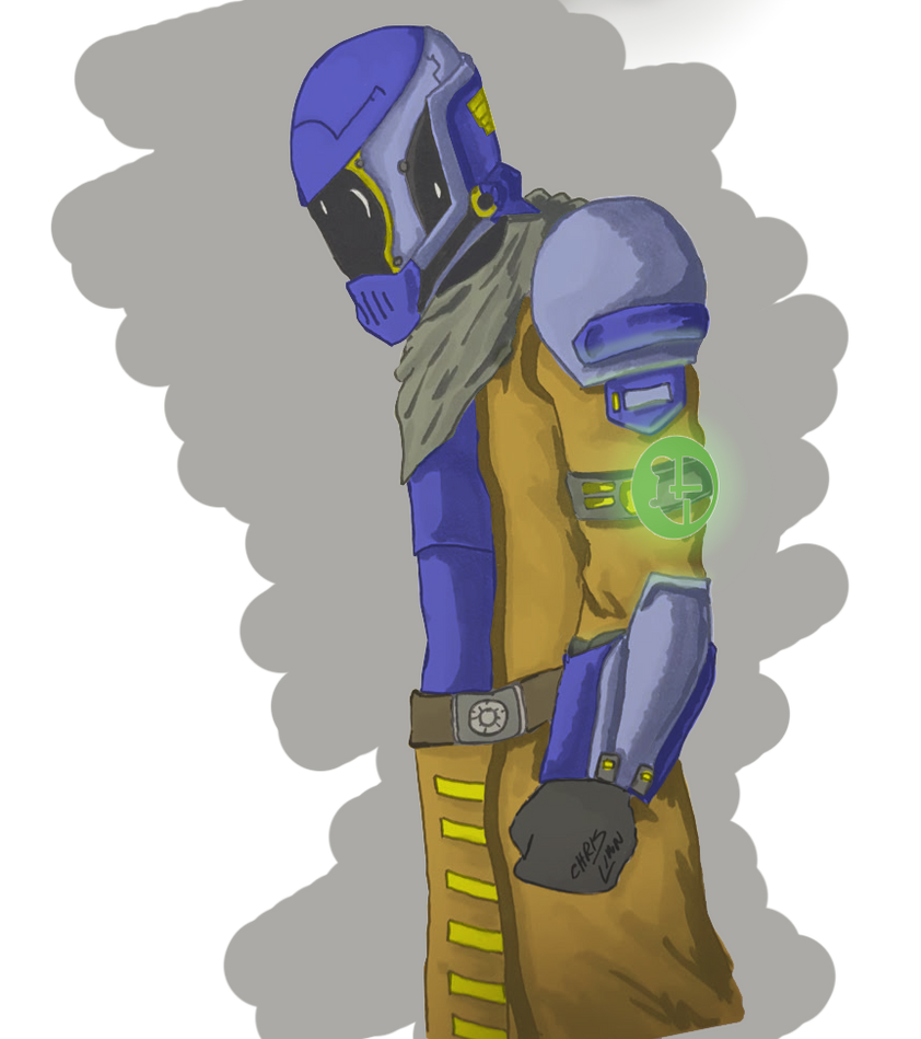 Warlock - Quick Sketch and Paint