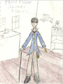 Steampunk Character Idea
