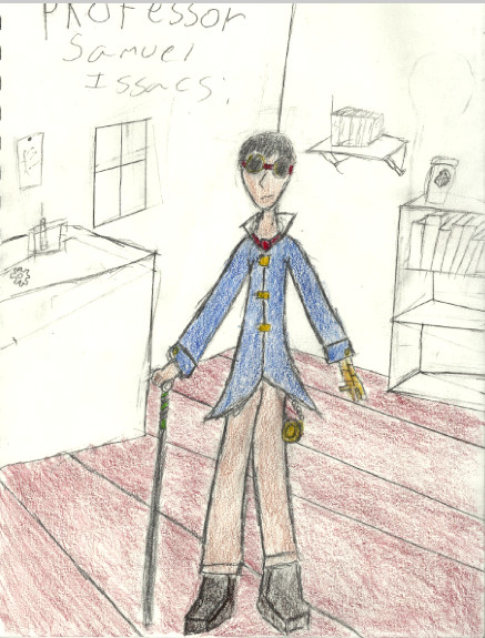 Steampunk Character Idea by Ninjaboy56