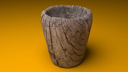 Wood Cup ~ Blender by NatyBarbosa