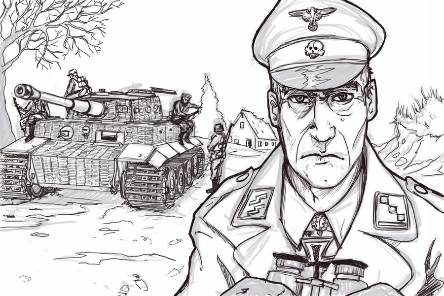 Ww2 Tanks Free Coloring Pages
