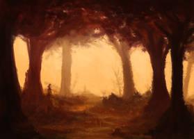Autumn Forest by AlLeTuN