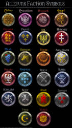 Medieval 2 Faction Symbols by AlLeTuN