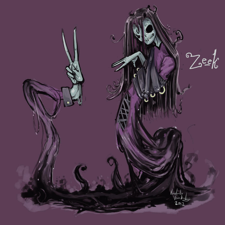Her Name Is Zeek by kvernikovskiy