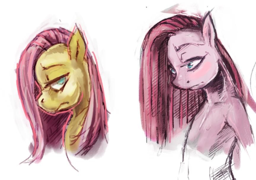 Pair of Painted Ponies by kvernikovskiy