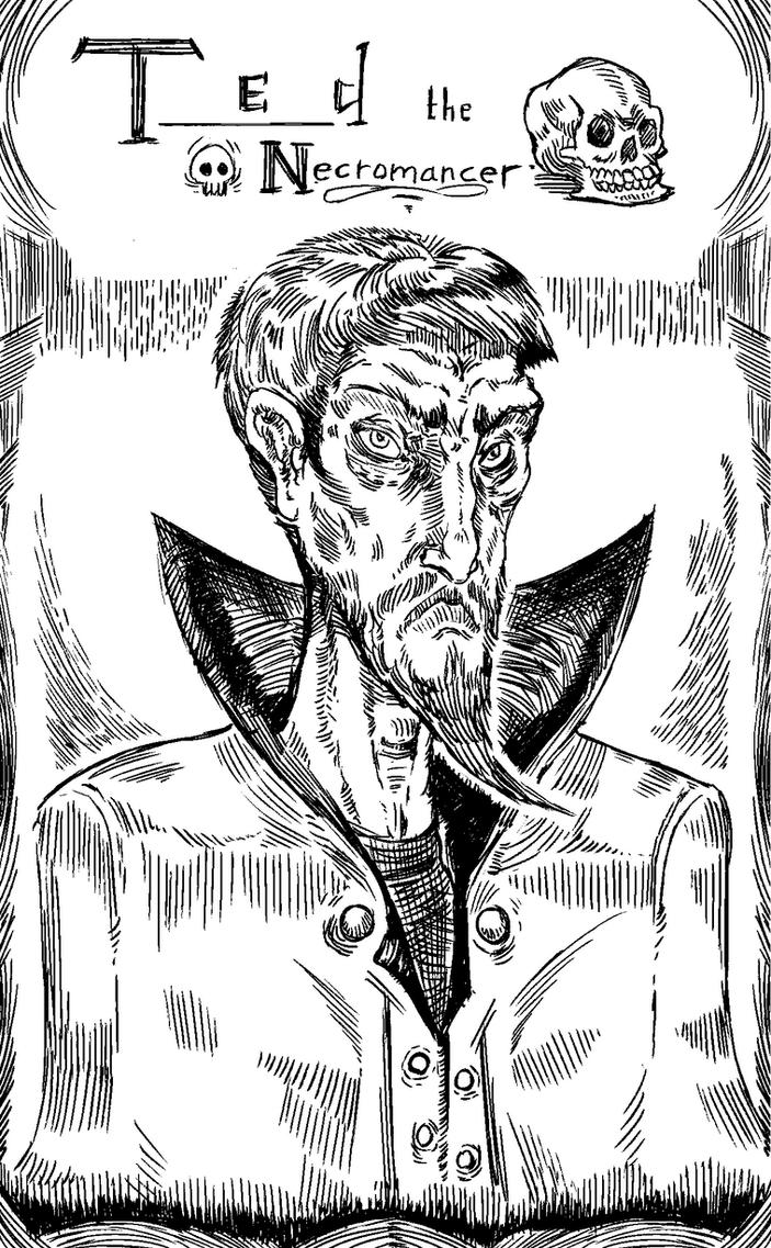 Ted the Necromancer by kvernikovskiy