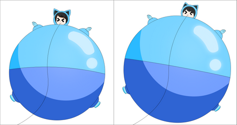 Galaxie wants to be inflated and bigger part4 by Darlaltonthebearcat