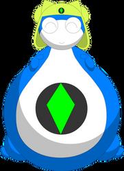 Dalala as a fat pear belly by Darlaltonthebearcat