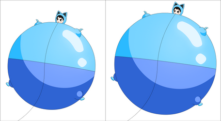 Galaxie wants to be inflated and bigger part 5