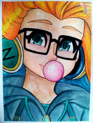 Cyber Pop Zoe - League of Legends by Saphir-And-Rose