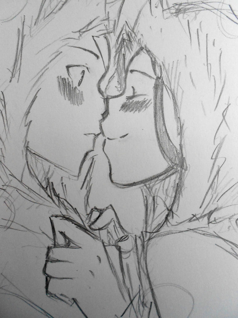 The kiss just for you by aogs47777