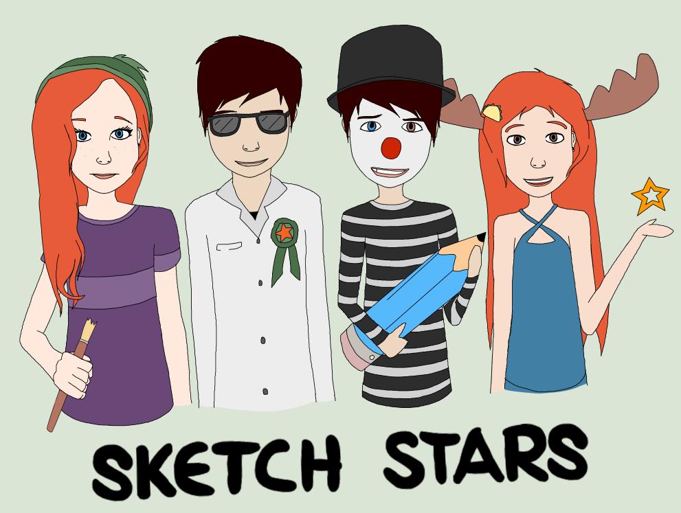 Sketch Stars by AskAlmostEvil