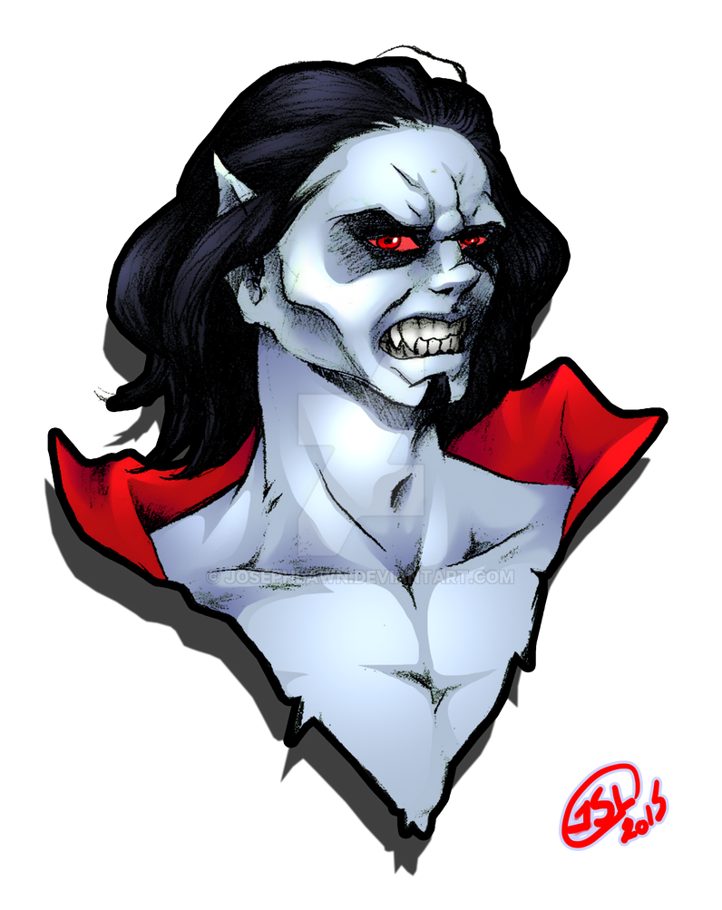 Michael Morbius head bust by JosephLawn