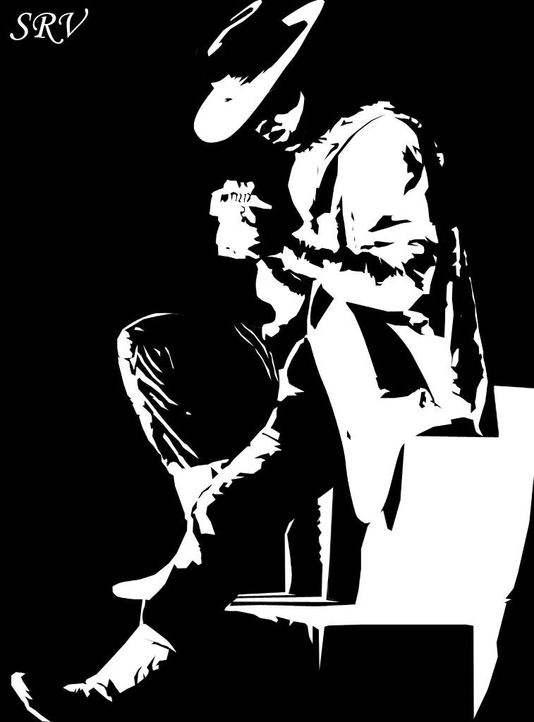 Tribute To Stevie Ray Vaughan By Borgasm On Deviantart