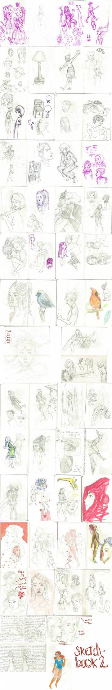 Sketchbook2 The return! by ladybugging