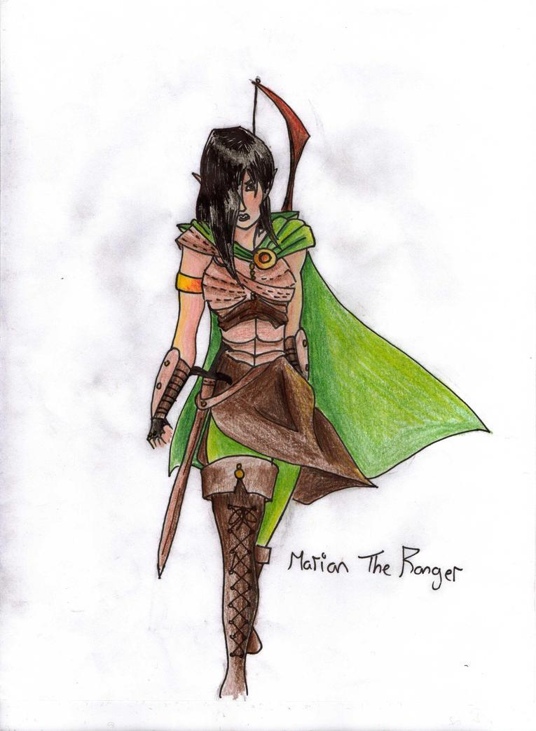 the gallery for gt dandd female ranger