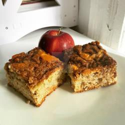 Apple cinnamon sugar swirl coffeecake