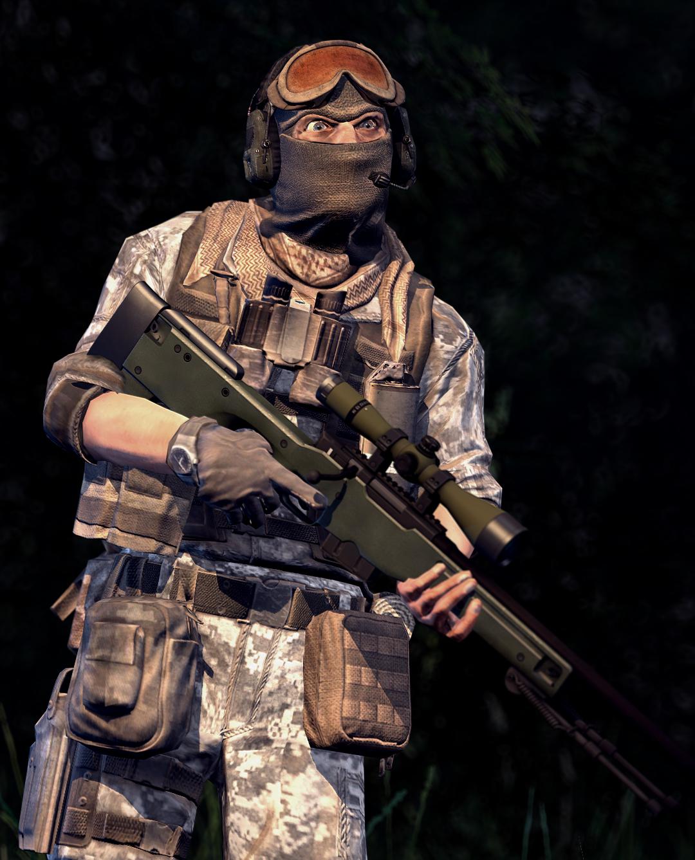 bf3 snipers by SuperNinjaNub