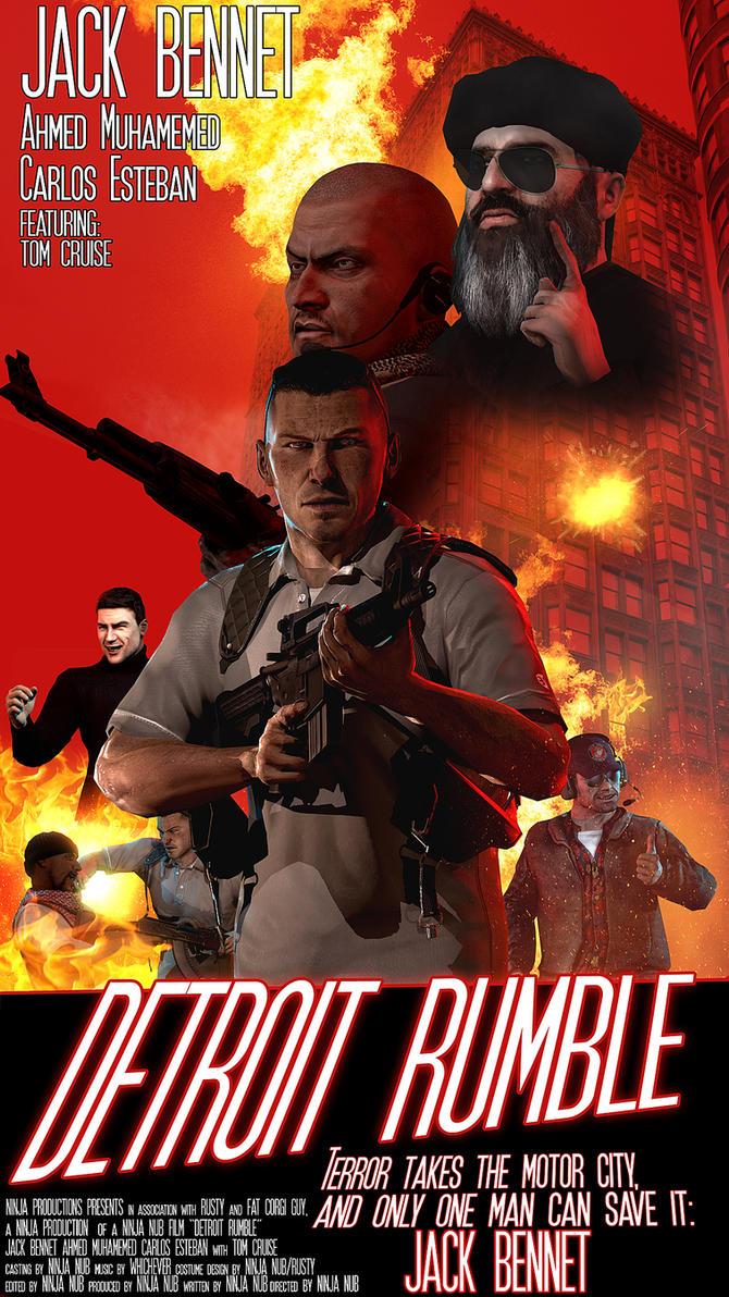Detroit Rumble by SuperNinjaNub