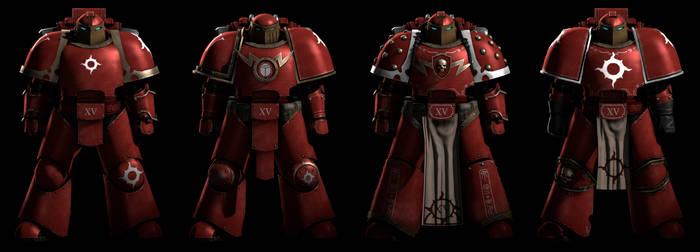 Thousand Sons MK3 Iron Power Armor