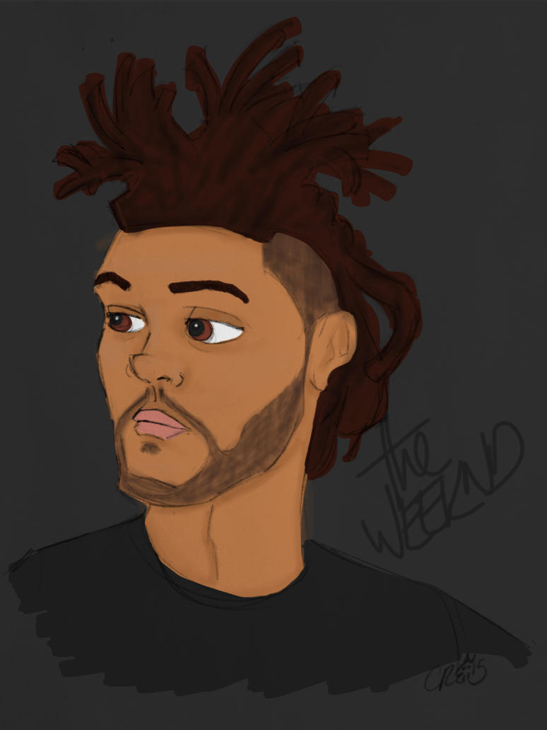 The Weeknd by c-t-supahfly