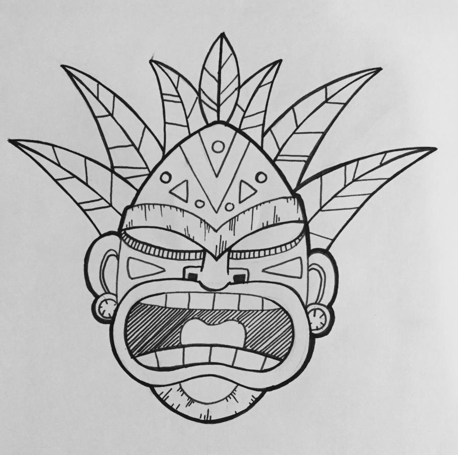 Tiki Mask by c-t-supahfly