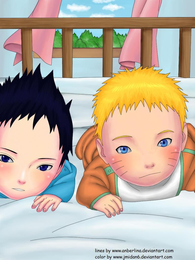 sasuke and naruto babies by zero-16 on DeviantArt