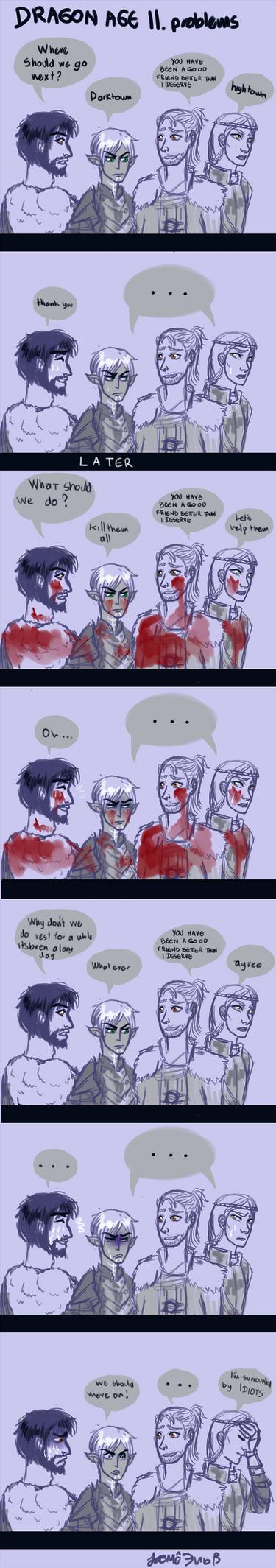 Dragon Age II problems by zero-16