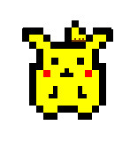 Pixel Pikachu by yoshi3197