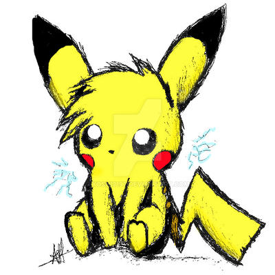 Simple Pikachu by yoshi3197 on DeviantArt