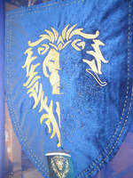W.I.P of the Banner of Alliance, Warcraft Movie by MeeYungCreations