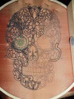 Calavera ( Mexican Skull head) by MeeYungCreations