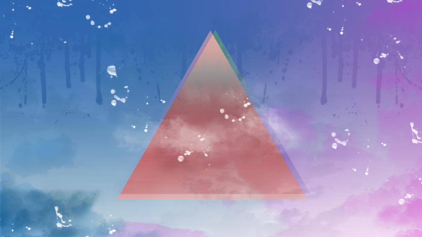 Hipster Triangle Wallpaper By Lemessiek On Deviantart