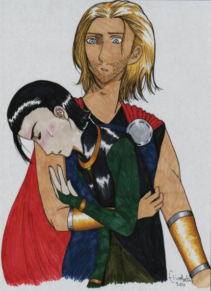 Thor and Loki - Fever by ThatDanishChick on DeviantArt
