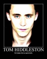 Tom Hiddleston Motivational 2 by ThatDanishChick